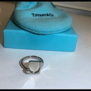 Tiffany & Co. Jewelry - Never Worn Tiffany & Co. Sterling Splash Sq. Ring